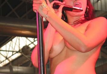 More Ficeb 2004...striptease & Dildo #2