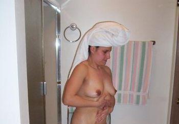Dee Dee After Shower