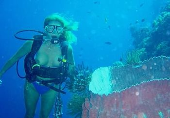 sharon - scuba diving #1