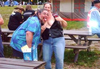 Biker Wife At Buckhorn.mo. 2008