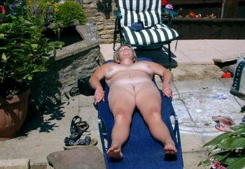 Wifey Sunbathing 2