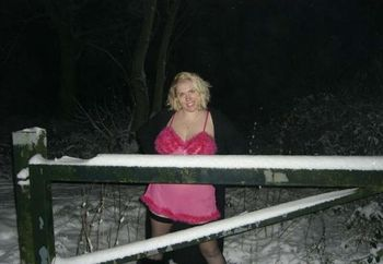 Barby In The Snow