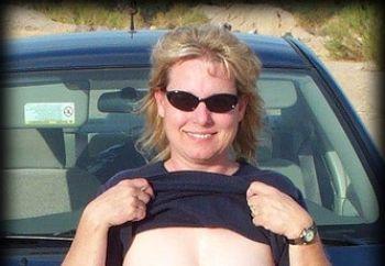 my wife's pretty titties