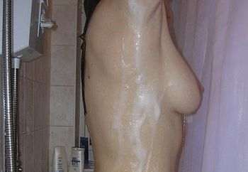jayne in the shower #2