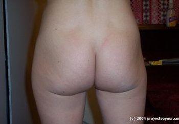 posing nude