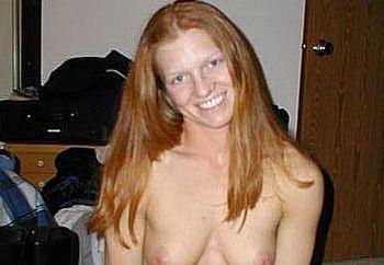 a redhead girl