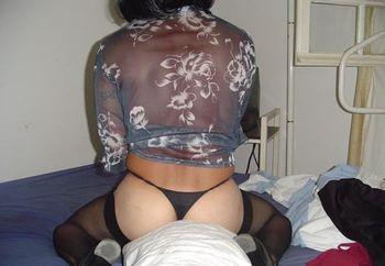 gina ma femme black stocking