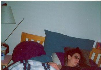 erin sleeping