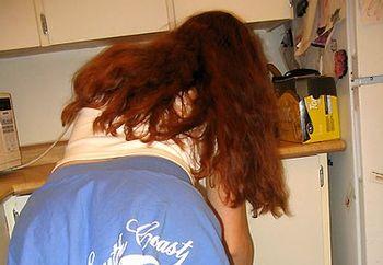steamy hot redhead