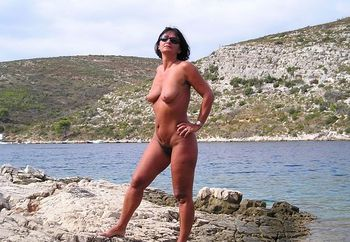 my wife in istria