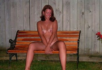 Naughty Girl Nude Outdoors