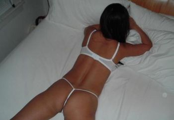 Asian Wife In The Bed And Around