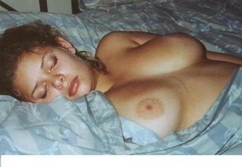 Big Tit Latina Sleeping