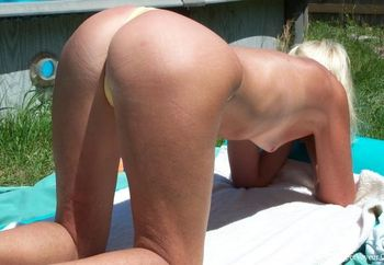 Blonde Wife Naked