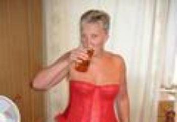 Sue In Red Basque