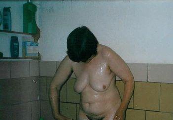 Beim Duschen