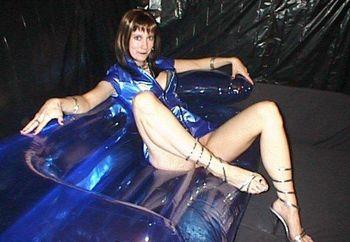 Katie Blue Pvc