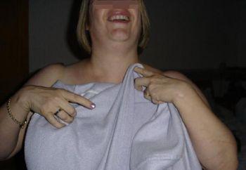 Wife's Big Natual Tits