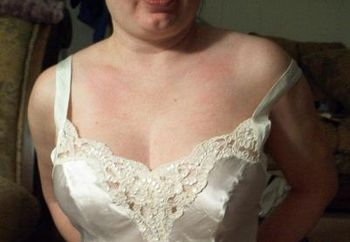 Wife In Wedding Lingerie