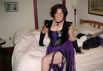 Wife's Sexy Halloween Costume