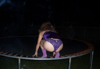 A Night On The Trampoline