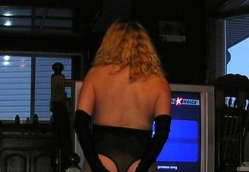 Becky's Striptease