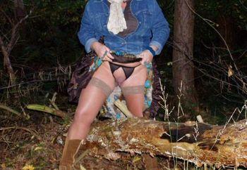 Nip: Hechtpaar In Het Bos