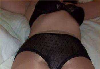 pantyhose ass wife