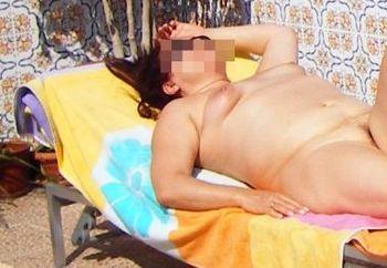 Sunbathing In Marbella