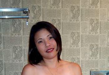 shy asian female