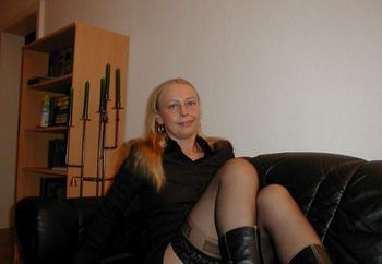 Nice Blond Lady From Germany