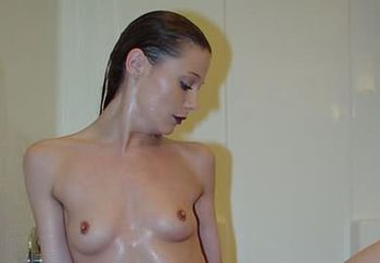 shower with exotic annette - pt.2