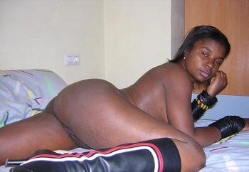 Pregnant Ebony 2