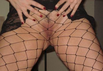 More Sexy Fishnet Pics...