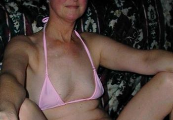 Wife In Pink Bikini
