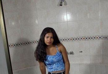 South-indian Girl In Bathroom - I