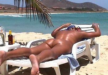 ass & tts at the beach