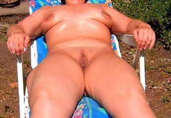 My Wife Tanning
