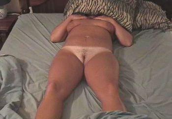 tan body in bed