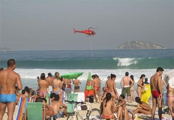 A Wonderful Day At Ipanema Beach In Rio
