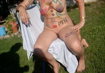 amateur bodypainting