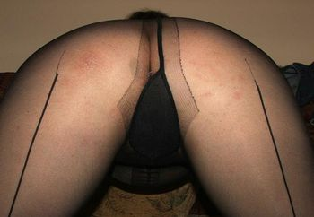 Hairy In Pantyhose 2