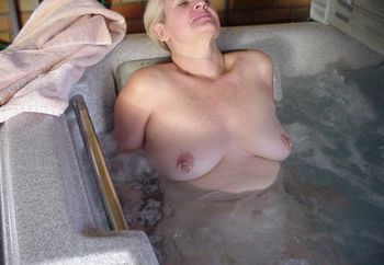 My Mom In And Out Of The Hot Tub