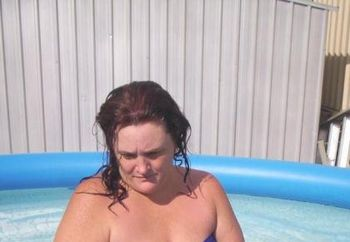 Horny Bbw Getting Wet