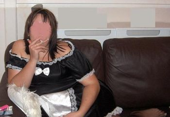 Wife In Maid Outfit