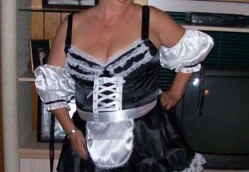 Debbiedoes As French Maid