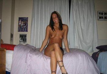 Posing at home