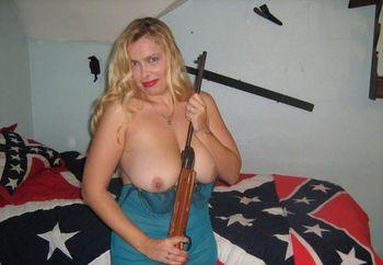 busty blonde rebel