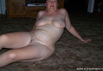 me naked at home