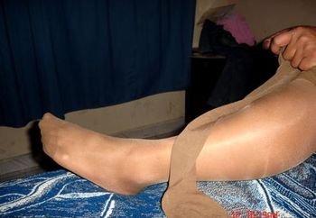 my friend in natural pantyhose